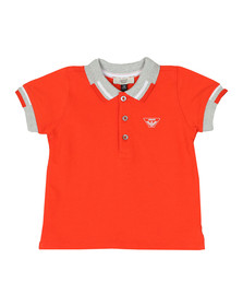 Armani Baby Boys Orange 3ZHF01 Polo Shirt