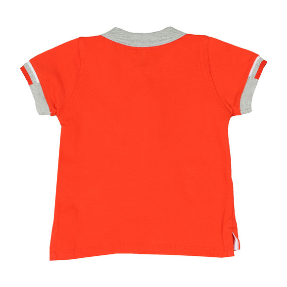 Armani Baby Boys Orange 3ZHF01 Polo Shirt main image