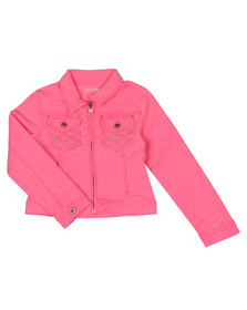 Billieblush Girls Pink U16170 Denim Jacket