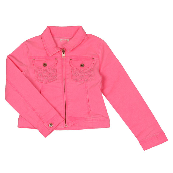 Billieblush Girls Pink U16170 Denim Jacket main image