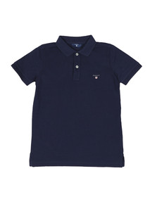 Gant Boys Blue Boys Original Pique Polo Shirt
