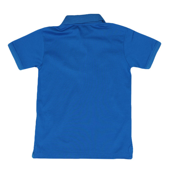 Paul & Shark Cadets Boys Blue Plain Polo Shirt main image