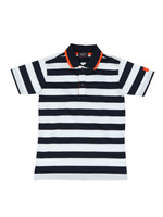 Tipped Stripe Polo Shirt