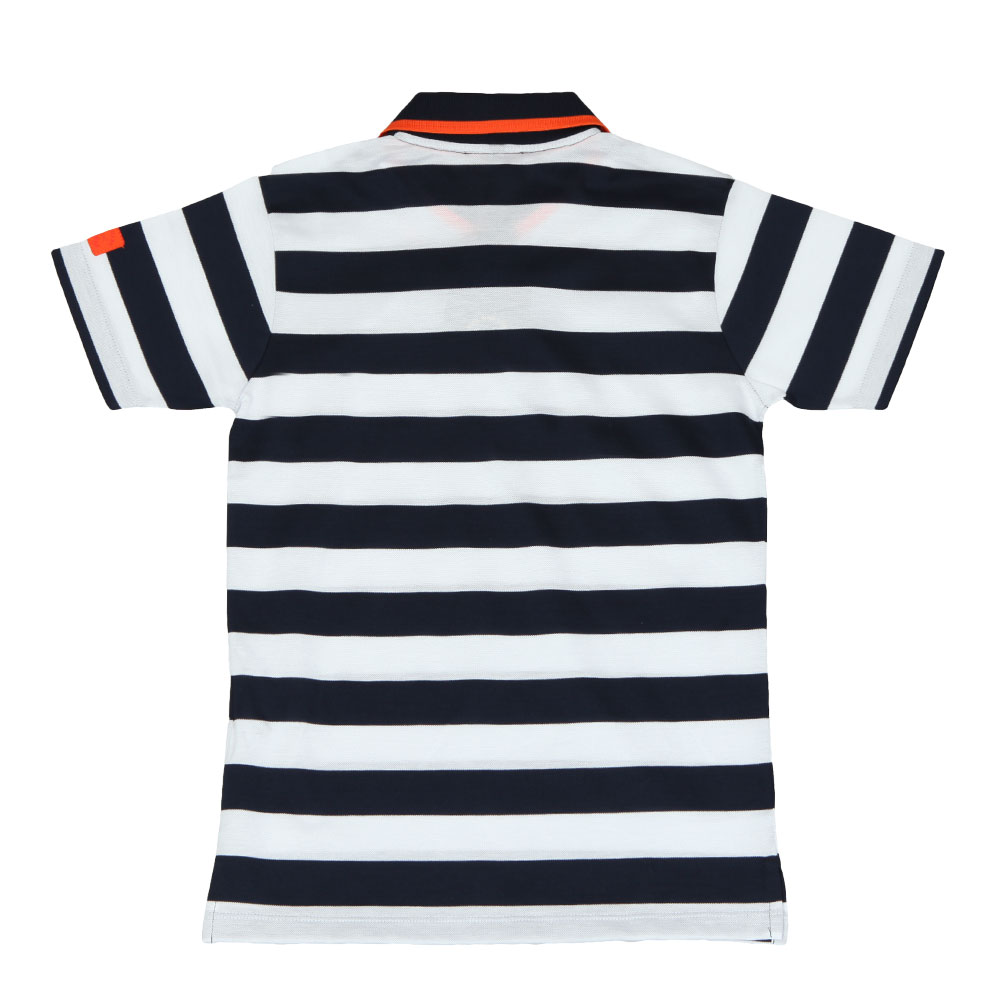 Tipped Stripe Polo Shirt main image