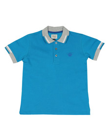 Armani Junior  Boys Blue 3Z4F01 Polo Shirt