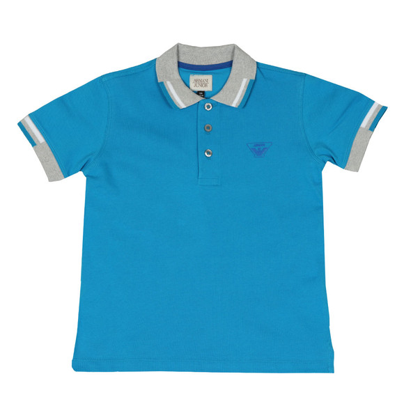 Armani Junior  Boys Blue 3Z4F01 Polo Shirt main image