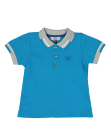 Armani Baby Boys Blue 3ZHF01 Polo Shirt