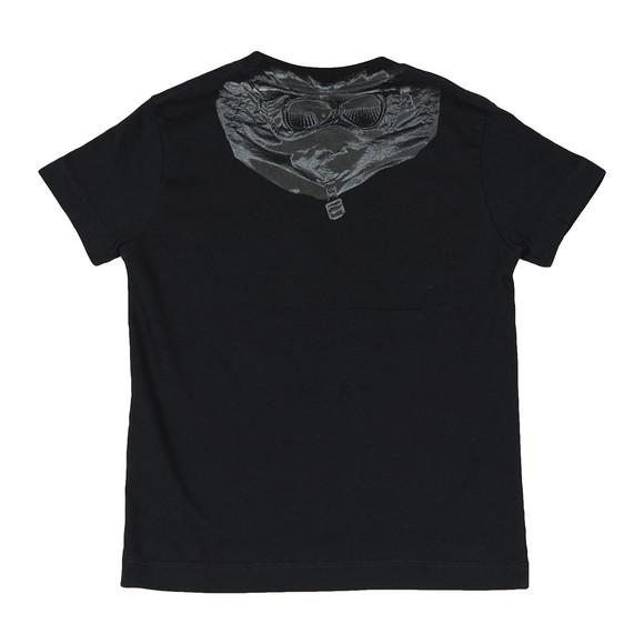 C.P. Company Undersixteen Boys Black Printed Goggle T-Shirt main image