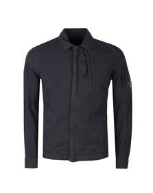 C.P. Company Mens Blue GD 50 Fili Peach Overshirt