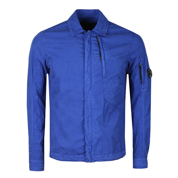 C.P. Company Mens Blue GD 50 Fili Peach Overshirt main image