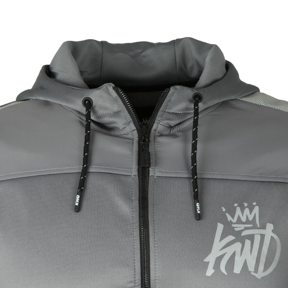 Kings Will Dream Mens Grey Kommack Zip Hoodie main image