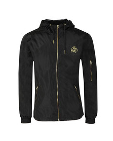 Kings Will Dream Mens Black Barnard Windbreaker