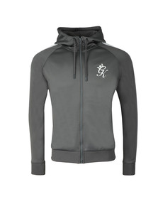 Gym King Mens Grey Omar Poly Track Top