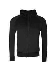 Gym King Mens Black Poly Track Top