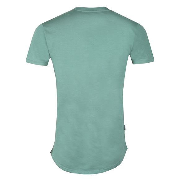 Gym King Mens Green S/S Long Line Tee main image