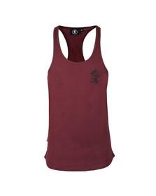 Gym king Mens Red Stringer Vest