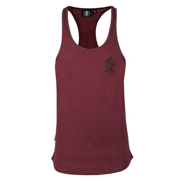 Gym King Mens Red Stringer Vest  main image