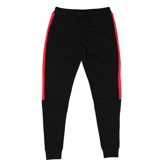 Gym king Mens Black Stripe Fleece Pant main image