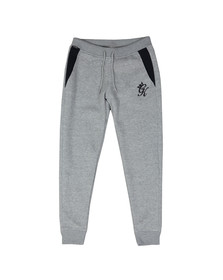 Gym King Mens Grey Asymertic Panel Jogger