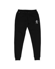 Gym King Mens Black Fleece Track Bottom