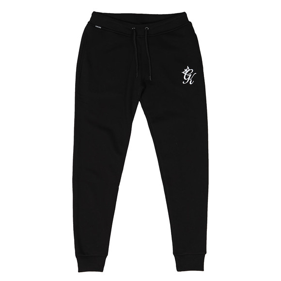 Gym King Mens Black Fleece Track Bottom main image