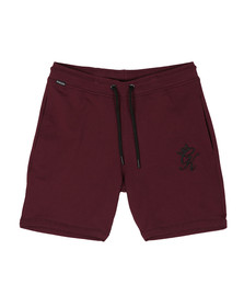 Gym King Mens Red Jersey Shorts