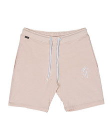Gym king Mens Beige Jersey Shorts