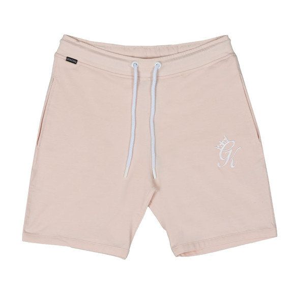 Gym King Mens Beige Jersey Shorts  main image