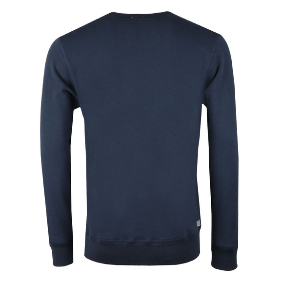 Diesel Mens Blue Willy Crew Sweatshirt main image