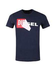 Diesel Mens Blue Diego QA T-Shirt