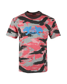 Diesel Mens Red Wallace T Shirt
