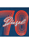 Diesel Mens Blue Diego SQ T Shirt