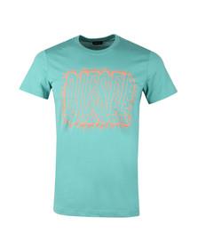 Diesel Mens Green Diego Sl T Shirt