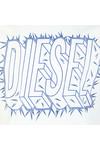 Diesel Mens White Diego Sl T Shirt