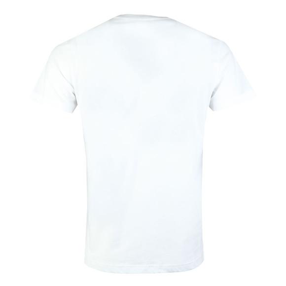 Diesel Mens White Diego Sl T Shirt main image