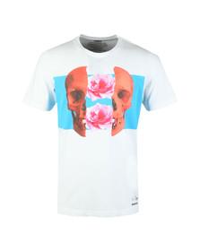 Diesel Mens White Just T Shirt