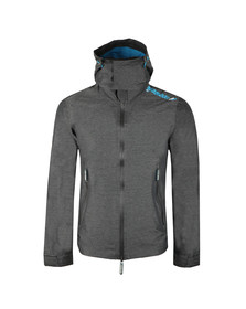 Superdry Mens Grey Hooded Technical Cliff Hiker Jacket
