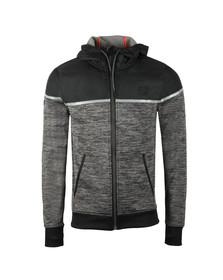 Superdry Sport Mens Grey Training Hybrid Ziphood