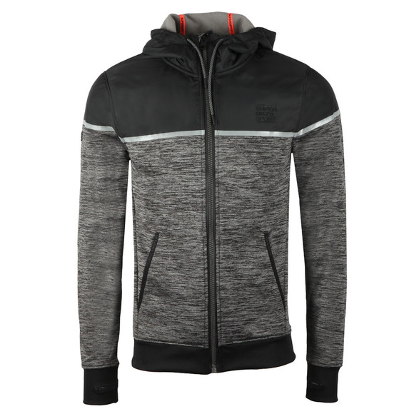 Superdry Sport Mens Grey Training Hybrid Ziphood main image