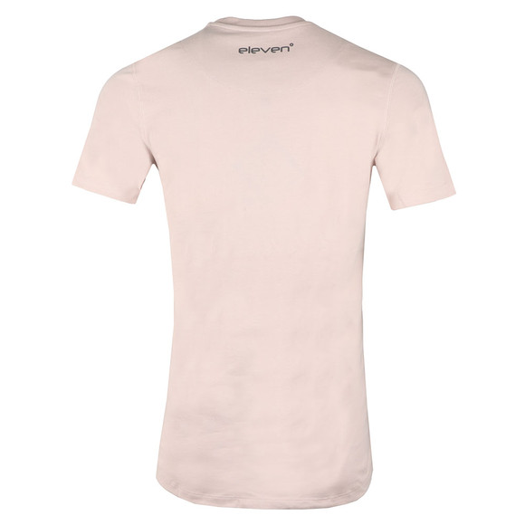 Eleven Degrees Mens Pink S/S Core Tee main image
