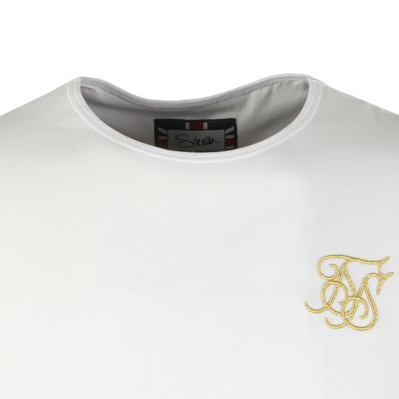 Sik Silk Mens White S/S Gym Tee main image