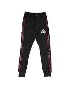 Kings Will Dream Mens Black Roxberry Poly Tape Pant