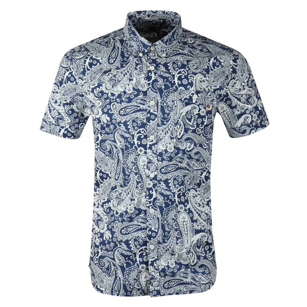 S/S Slim Fit Paisley Shirt main image