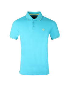 Henri Lloyd Mens Blue S/S Abington Polo