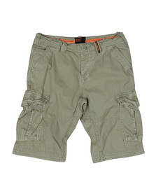 Superdry Mens Green Core Cargo Lite Short
