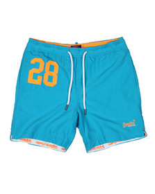 Superdry Mens Blue Waterpolo Swim Short