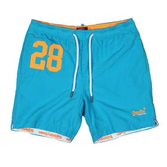 Superdry Mens Blue Waterpolo Swim Short main image
