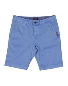 Superdry Mens Blue International Chino Short