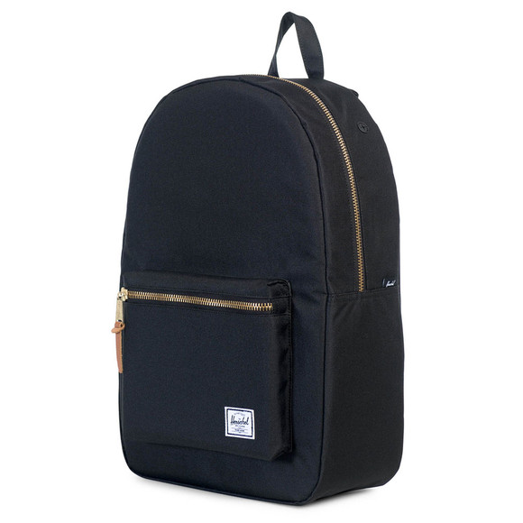 Herschel Mens Black Settlement Backpack main image