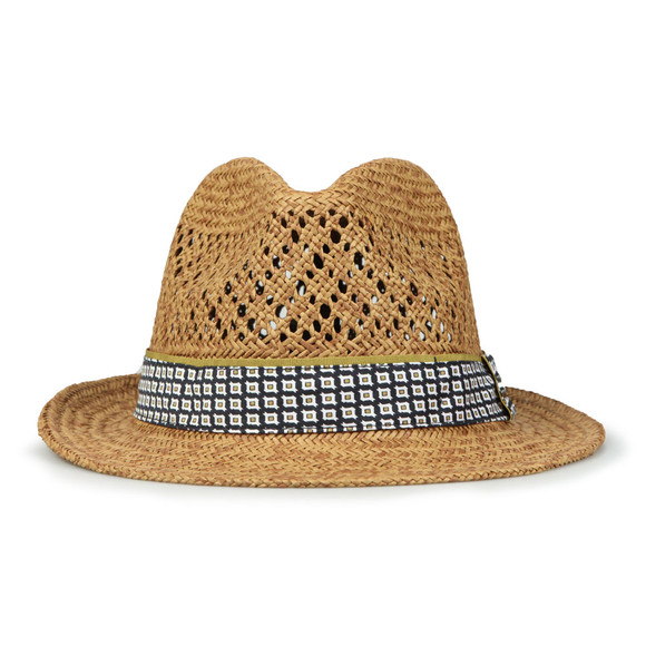 Ted Baker Mens Beige Natural Straw Hat main image